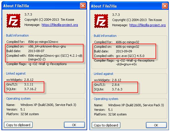 StealZilla – вредоносный аналог Filezilla